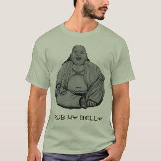 Ventre de Bouddha de bande de frottement T-shirt