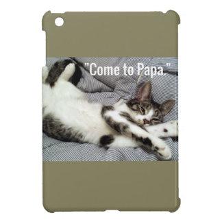 """""""Venu chat à papa"""" Coque Pour iPad Mini"""