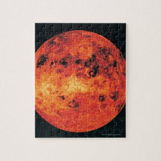 Vénus, carte de radar puzzle