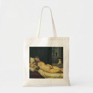 Vénus d'Urbino par Titian, art de Renaissance Sacs