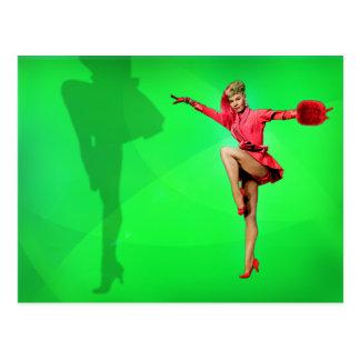 Vera-Ellen et sa carte postale de jambes
