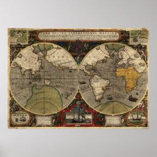 Vera Totius Expeditionis Nauticae de 1595 Poster