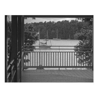 Véranda de baie de Kingsland Cartes Postales
