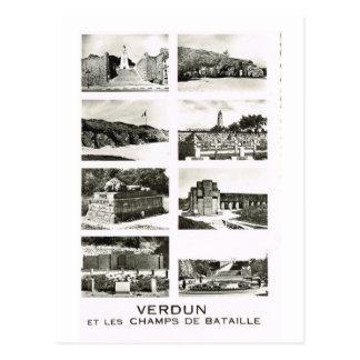 Verdun,    et les champs de bataille carte postale