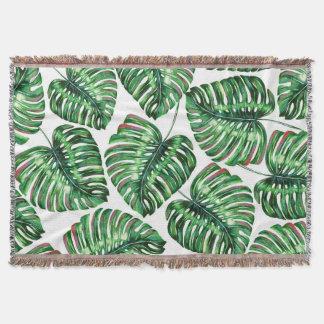 Verdure tropicale couvertures