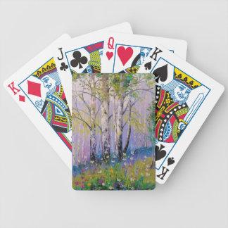 Verger de bouleau jeu de cartes