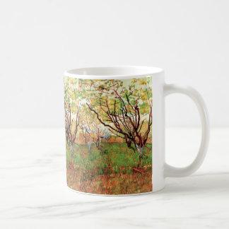 Verger de Van Gogh dans la fleur, beaux-arts Mug Blanc