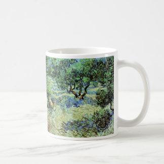 Verger olive de Van Gogh, beaux-arts vintages Mug