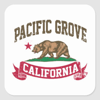 Verger Pacifique la Californie Sticker Carré