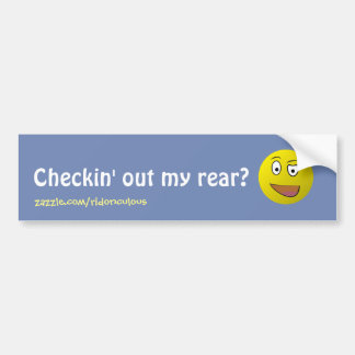Vérification de mon autocollant de pare-chocs autocollant pour voiture