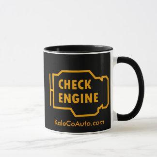 Vérifiez la tasse de moteur