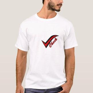 Vérifiez le T-shirt