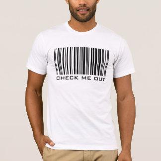 Vérifiez-moi - code barres - T-shirt