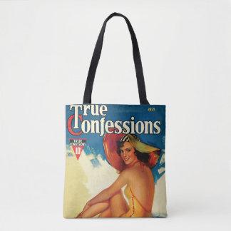 Véritable sac fourre-tout à confession du cru 1937