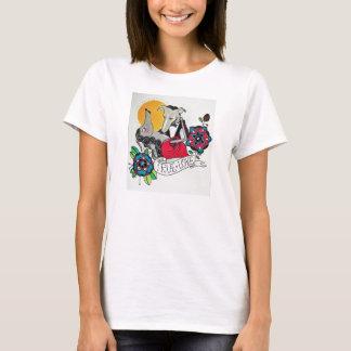 Véritables whippets d'amour t-shirt