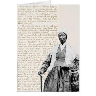 Vérité de Sojourner - droits de la femme Cartes