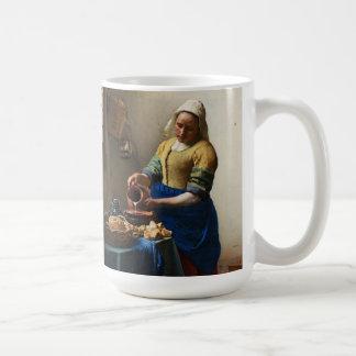 Vermeer la tasse de trayeuse