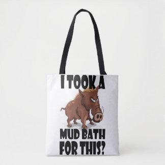 """Verrat grincheux Fourre-tout - """"j'ai pris Bath de Tote Bag"""