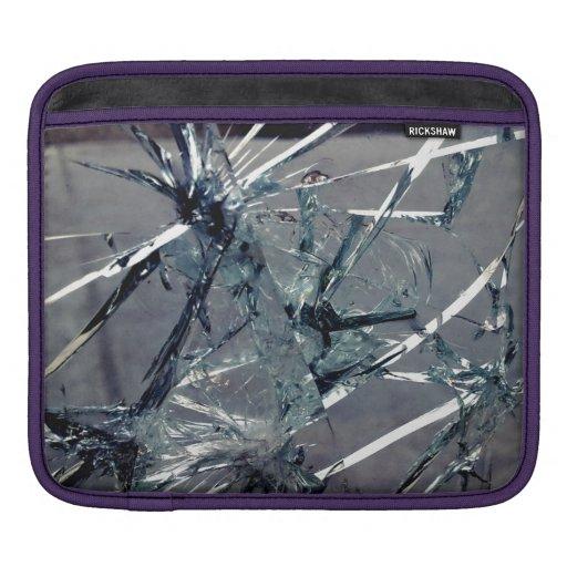 Verre cassé housses iPad