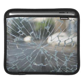 Verre cassé poches pour iPad