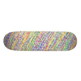 Verre d'arc-en-ciel plateaux de skate