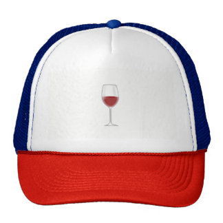 Verre de vin casquette de camionneur