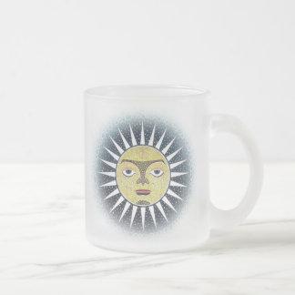 Verre givré du soleil jumeau tasse de 10 onces