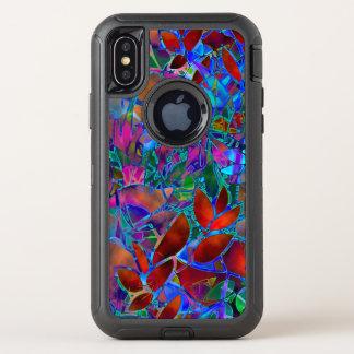 verre souillé d'abrégé sur floral cas de l'iPhone