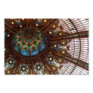 Verre souillé de Galeries Lafayette Photo Sur Toile