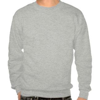 Verres à trois dimensions de panda vintage sweat-shirt