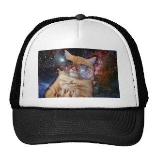 Verres de chat - chat de lunettes de soleil - casquettes