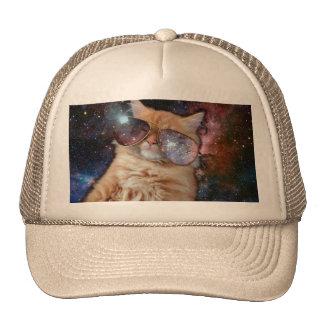 Verres de chat - chat de lunettes de soleil - casquettes de camionneur