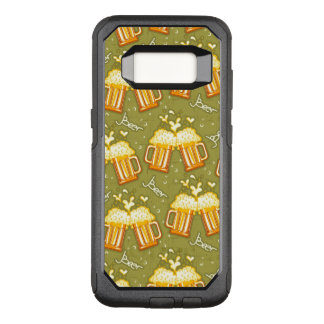 Verres de motif de bière coque samsung galaxy s8 par OtterBox commuter