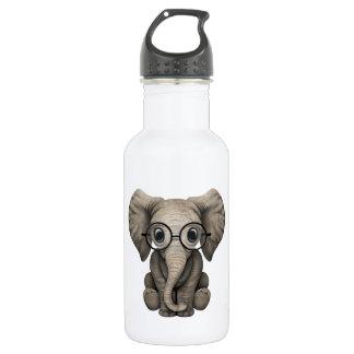 Verres de port d'éléphant ringard de bébé bouteille d'eau