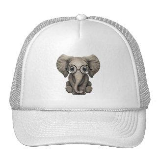 Verres de port d'éléphant ringard de bébé casquette