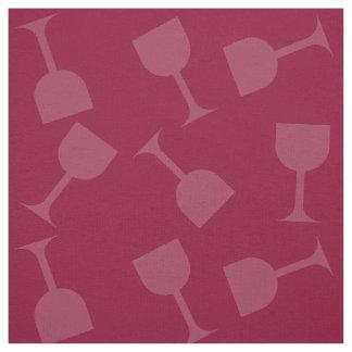 Verres de vin pompette tissu