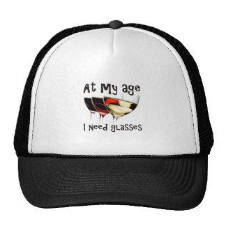 Verres du besoin casquette