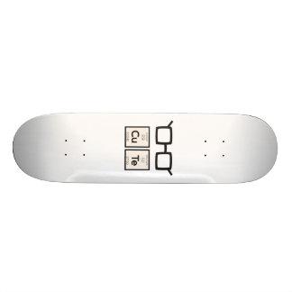 Verres nerd mignons Zwp34 d'élément chimique Skateboard 21,6 Cm