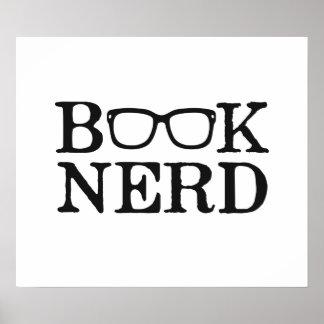 Verres ringards nerd de livre poster