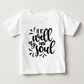 Vers de bible t-shirt pour bébé