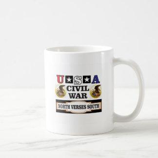 Vers du nord de guerre civile des Etats-Unis du Mug