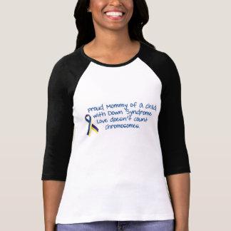 vers le bas-syndrome-maman t-shirt