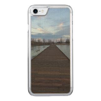 Vers le cas de lac coque carved iPhone 8/7