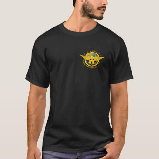 Vers le haut de tout le T-shirt de burn-out de