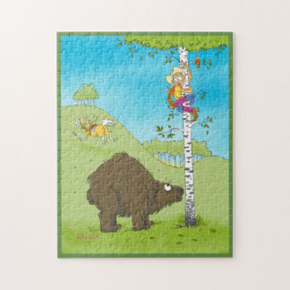 Vers le haut d'un puzzle d'arbre