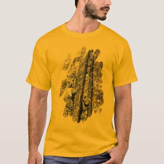 Vers le haut d'un T-shirt d'arbre