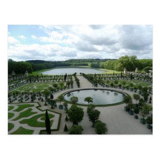 Versailles fait du jardinage carte postale