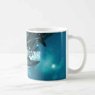 Verseau Résumé-Bleu Mug