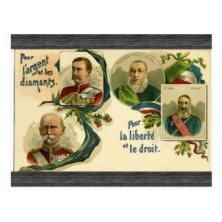 Versez Largent et Les Diaments versent la La Liber Cartes Postales