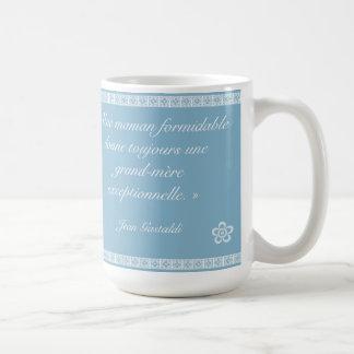 Versez le meilleure grand-mère mug blanc